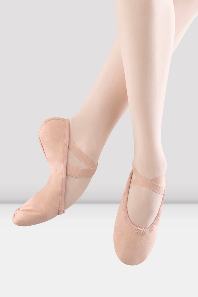 Girls Pump Canvas Ballet Shoes - BLOCH US