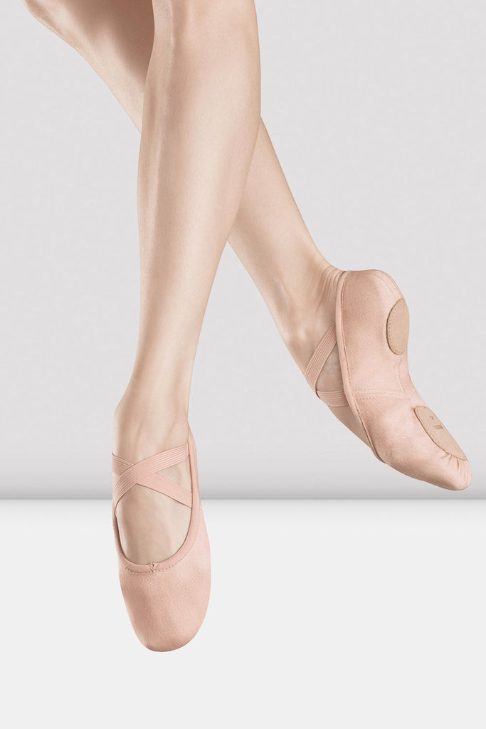 Ladies Zenith Stretch Canvas Ballet Shoes - BLOCH US