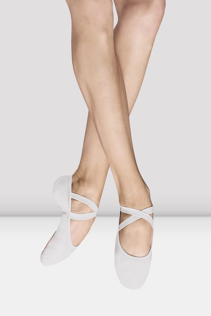 Ladies Performa Stretch Canvas Ballet Shoes - BLOCH US
