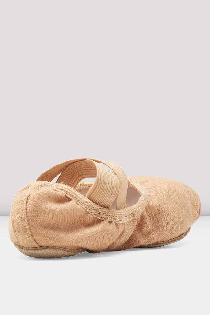 Childrens Performa Stretch Canvas Ballet Shoes - BLOCH US