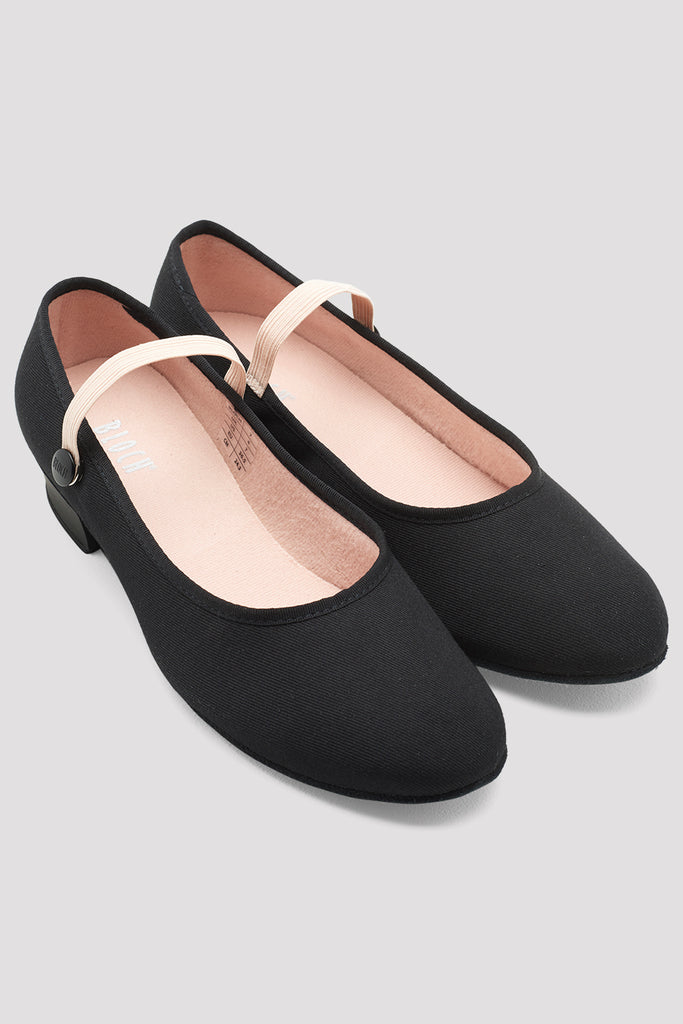 Ladies Accent Canvas Character Shoes - BLOCH US