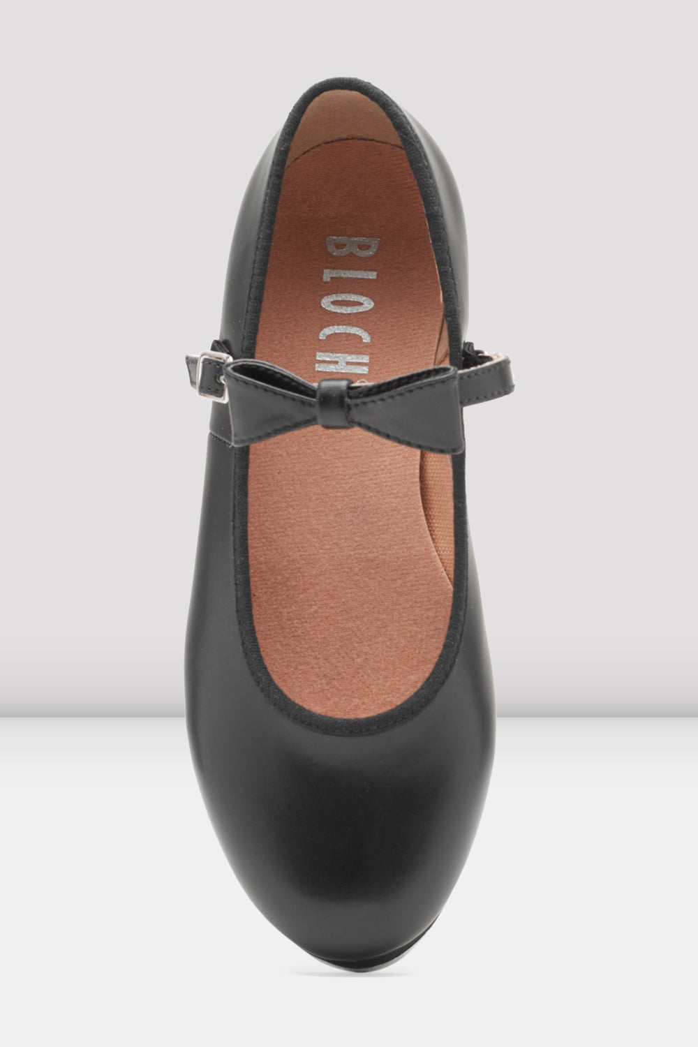 size UK 4.5 black Bloch merry jane tap shoes heel and toe taps