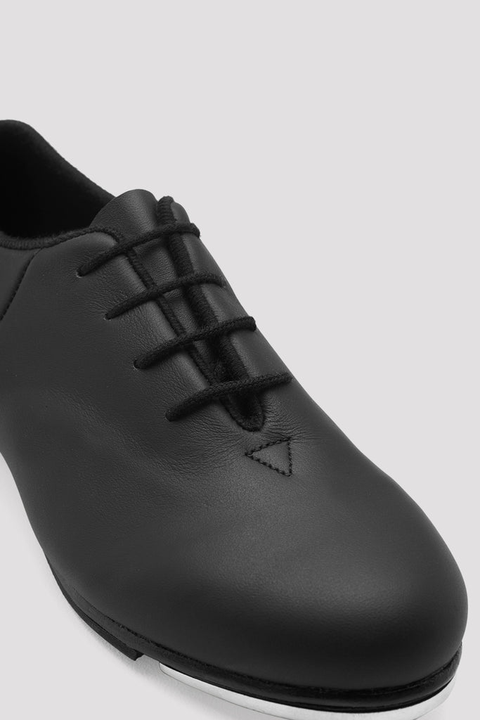 Childrens Audeo Jazz Tap Leather Tap Shoes - BLOCH US