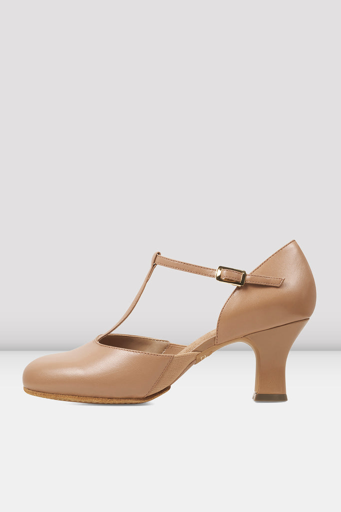 Ladies Split Flex Leather Character Shoes - BLOCH US