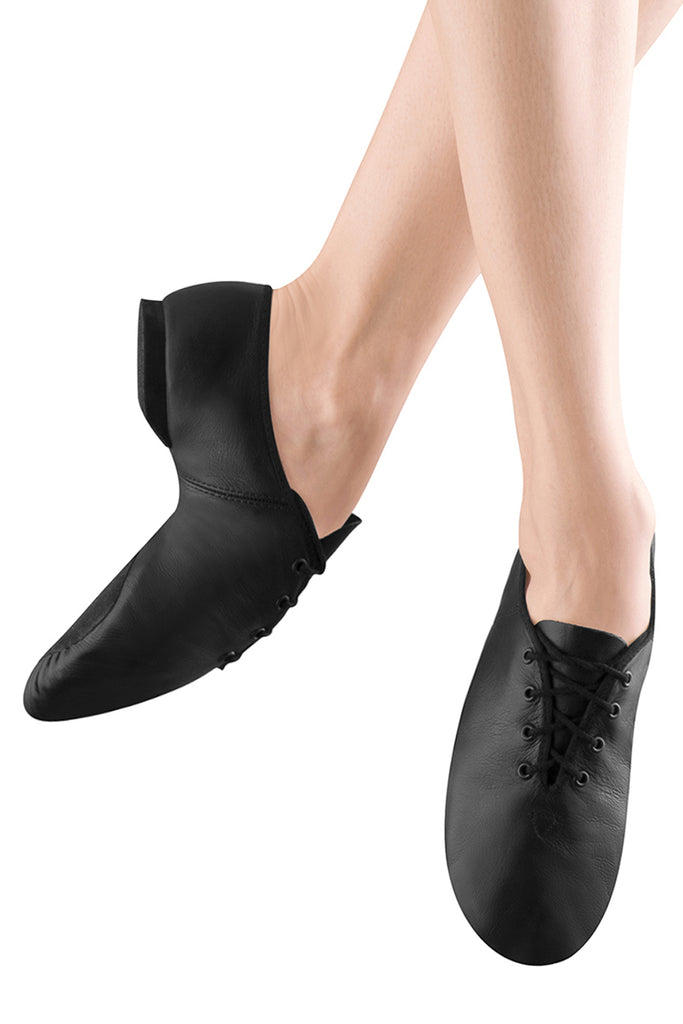 Ladies Ultraflex Leather Suede Sole Jazz Shoes - BLOCH US