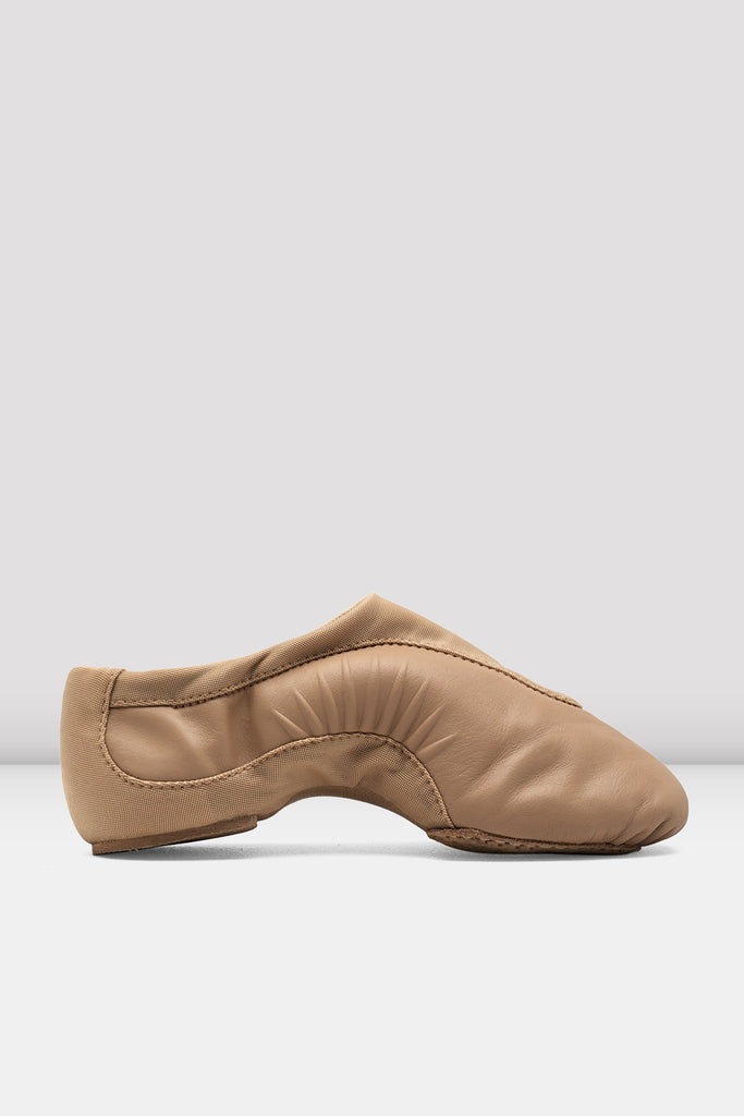 Girls Pulse Leather Jazz Shoes