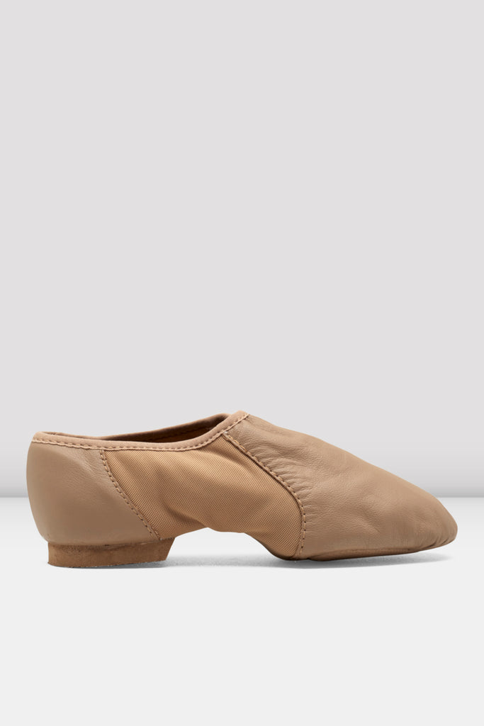 Ladies Neo-Flex Slip On Leather Jazz Shoes - BLOCH US