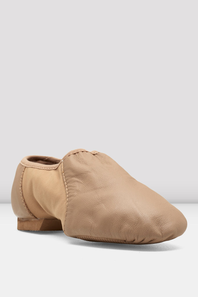Girls Neo-Flex Slip On Leather Jazz Shoes - BLOCH US