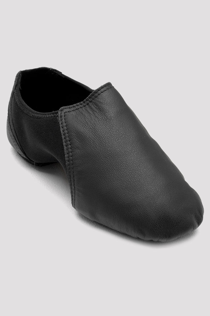 Girls Spark Leather & Neoprene Jazz Shoes - BLOCH US