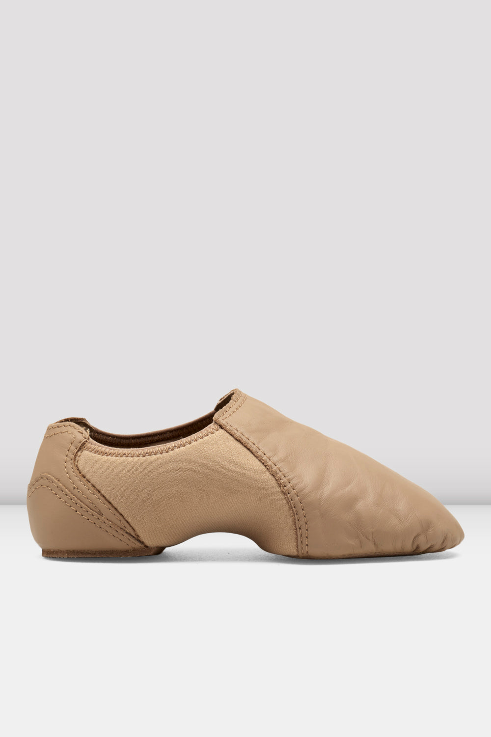 Ladies Spark Leather & Neoprene Jazz Shoes - BLOCH US