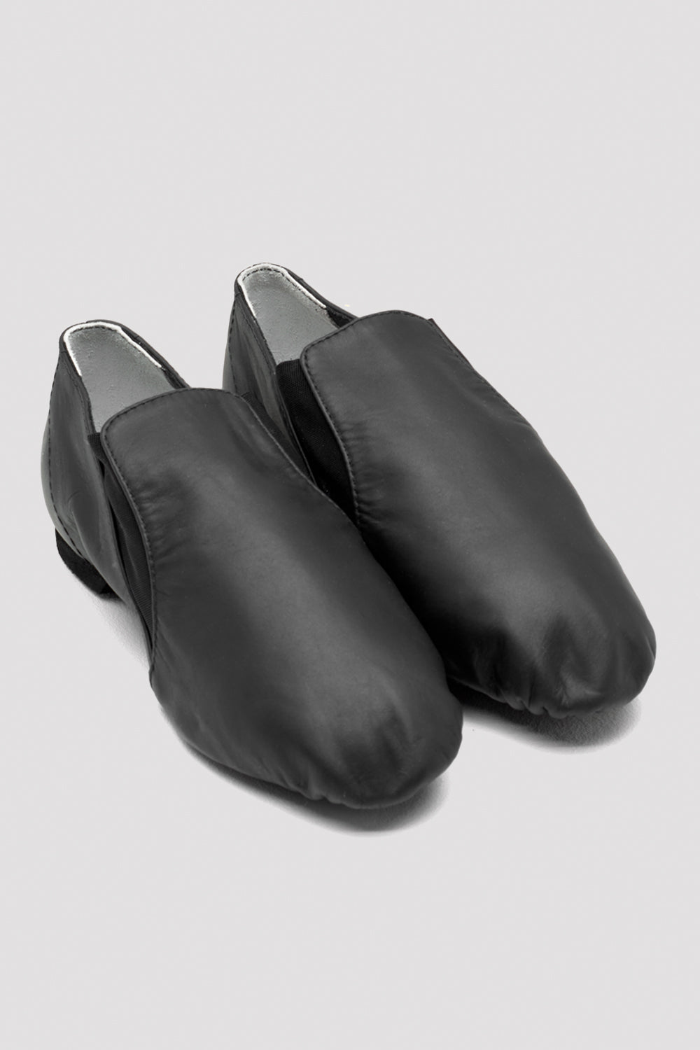 Ladies Leather Elasta Jazz Booties - BLOCH US