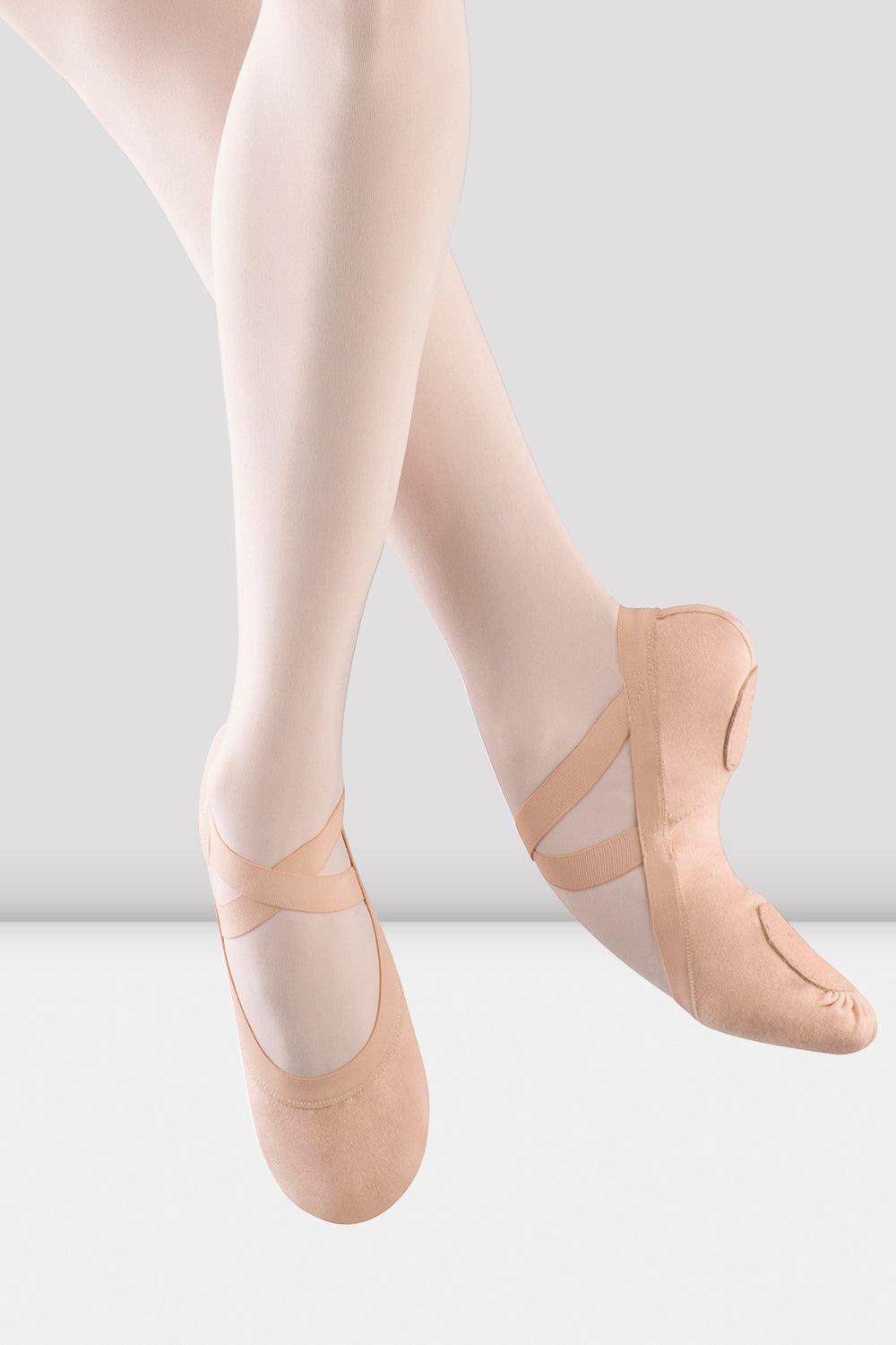 Girls Pro-Elastic Canvas Ballet Shoes - BLOCH US