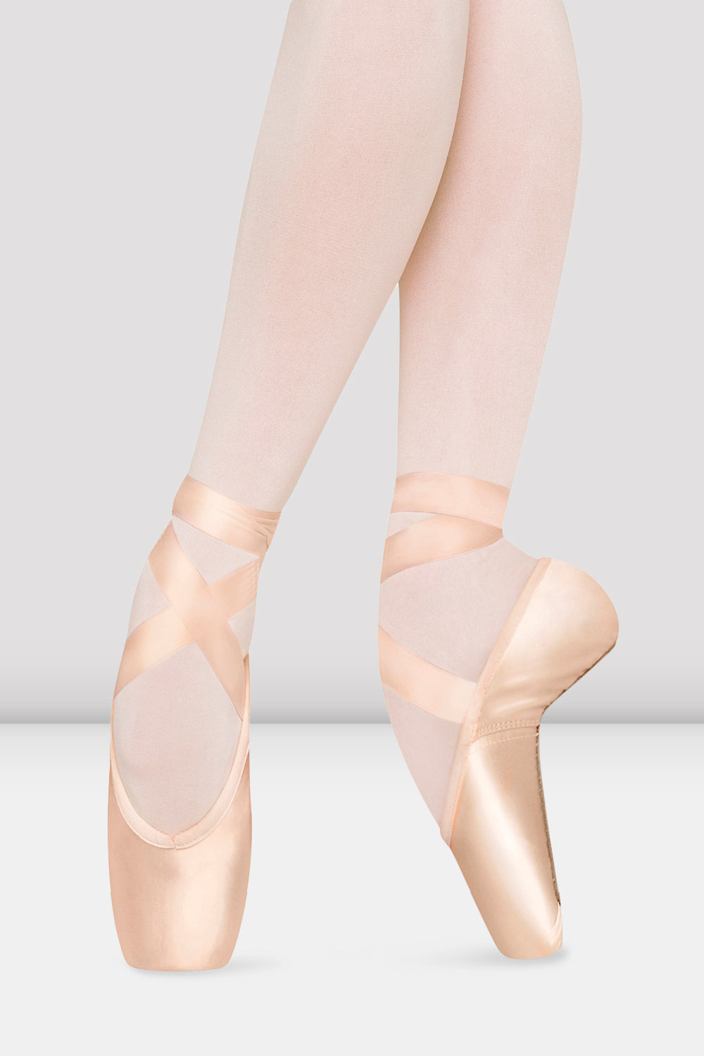 Synergy Full Shank Pointe Shoes, Pink