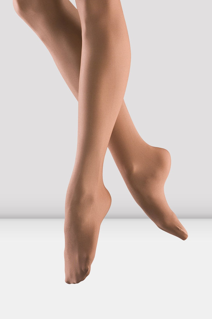 Ladies Shimmer Footed Tights - BLOCH US