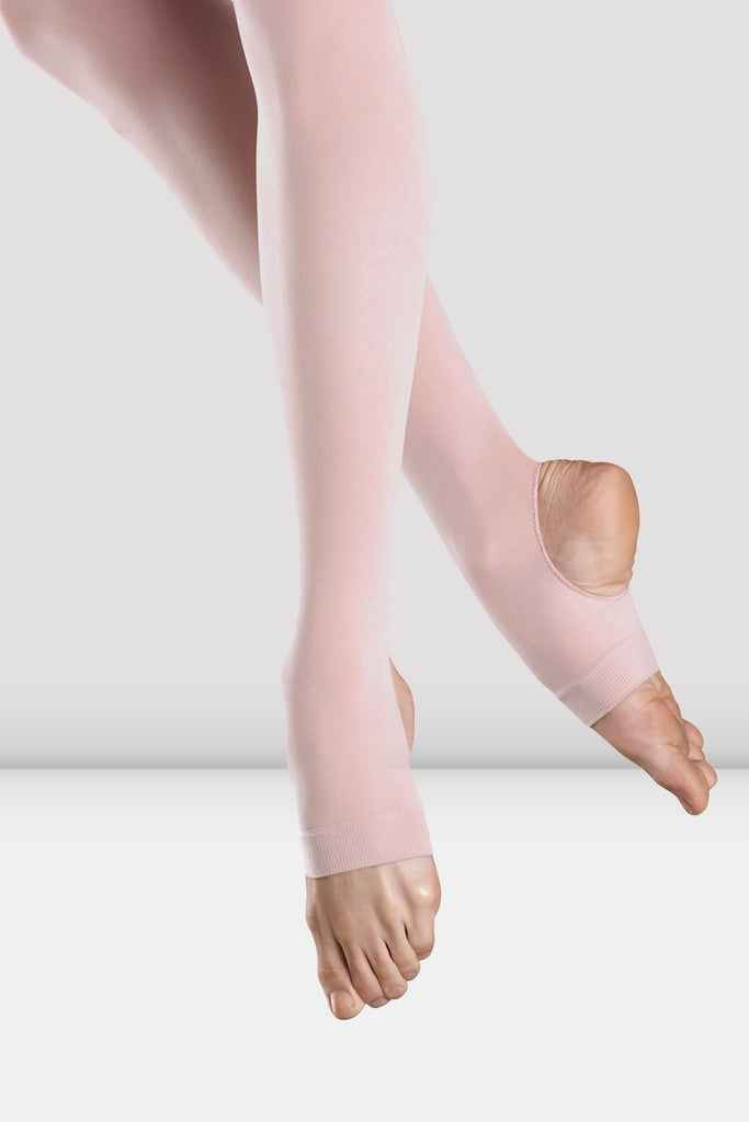 Girls Endura Stirrup Tights - BLOCH US