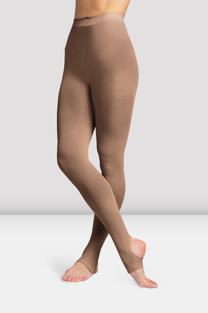 Girls Contoursoft Stirrup Tights - BLOCH US