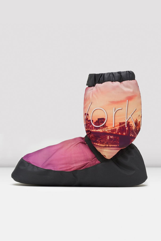 New York City Scape Adult Warm Up Booties - BLOCH US