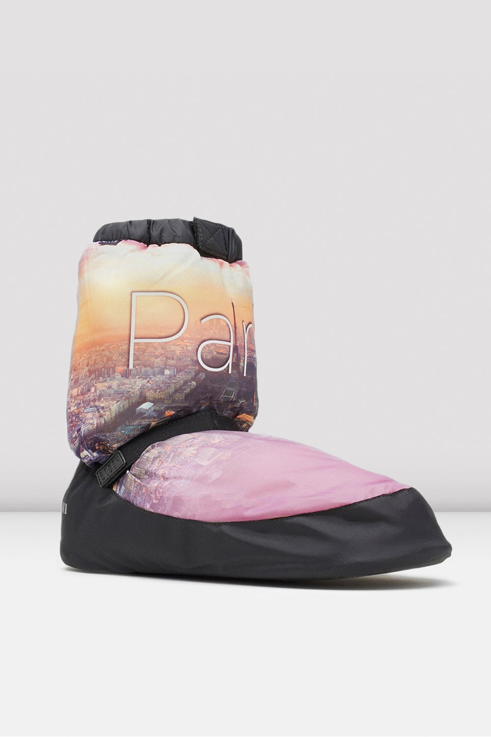 Paris City Scape Adult Warm Up Booties