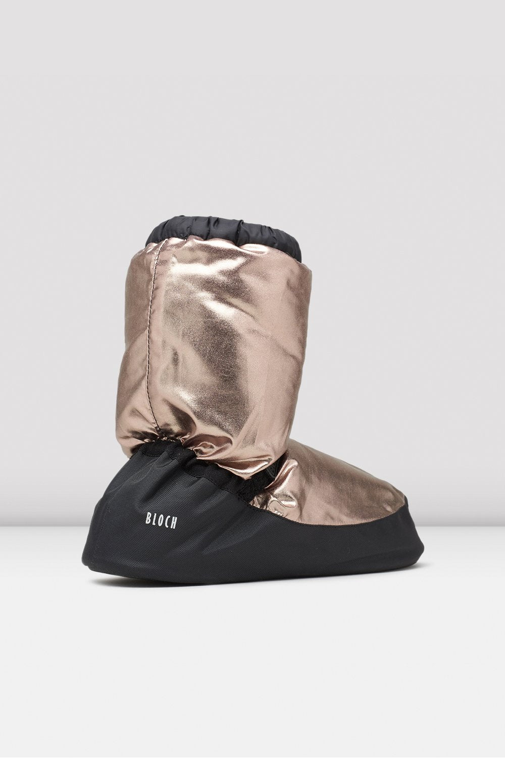 Metallic Warm Up Booties