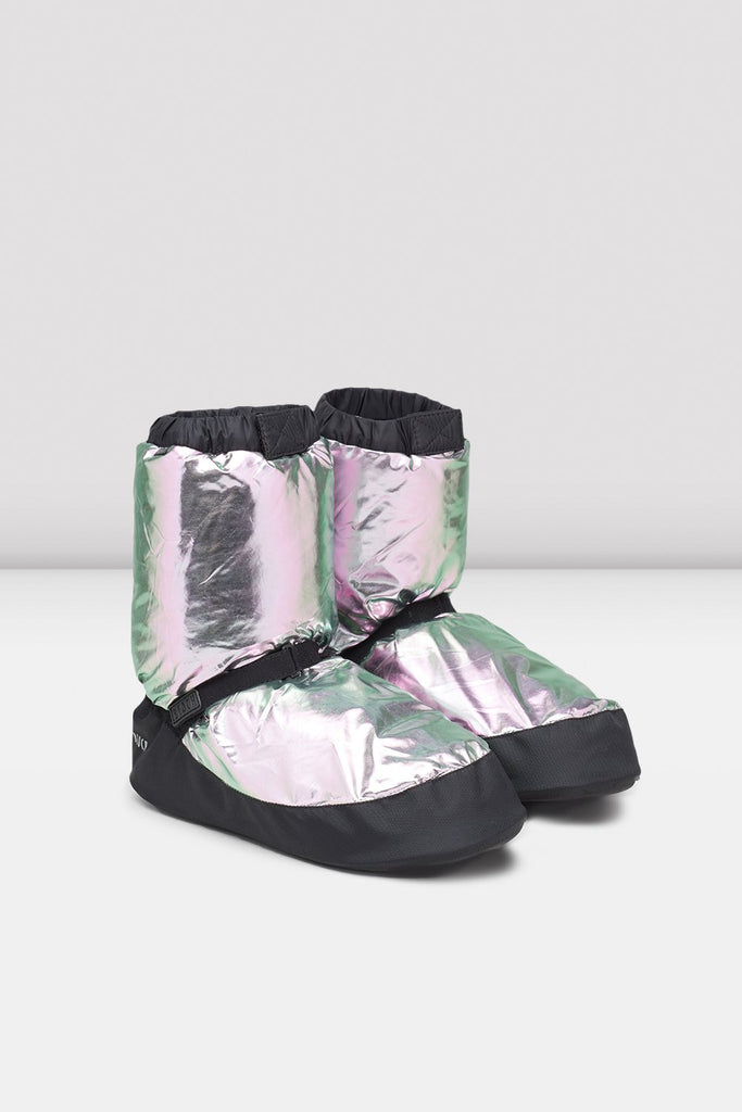 Metallic Warm Up Booties - BLOCH US