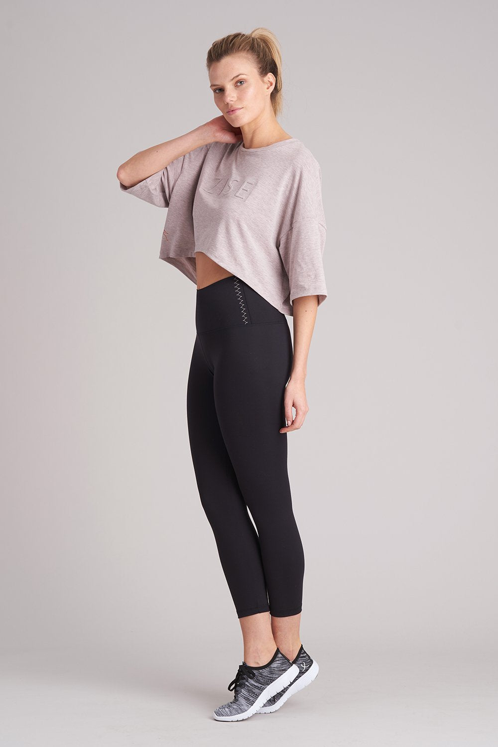 Zise Emmy Loose Crop T-Shirt - BLOCH US