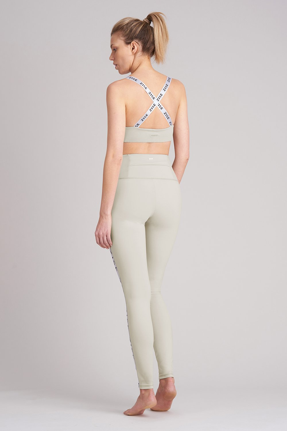 Zise Mimi Cross Back Crop Top - BLOCH US