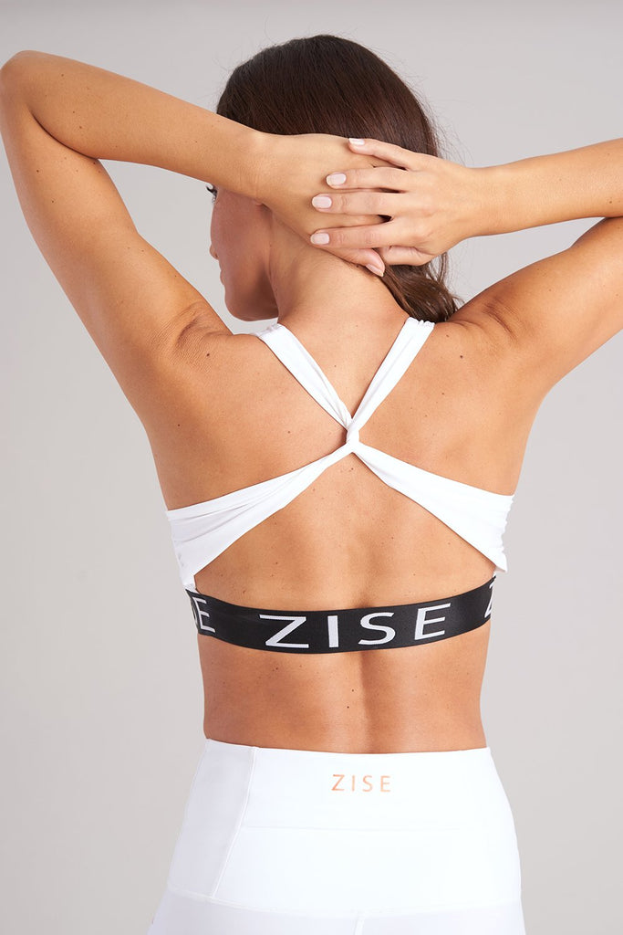 Zise Gigi Cross Back Crop Top - BLOCH US