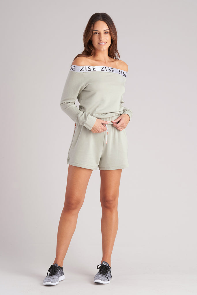 Zise Jeri Ballet Neck Sweatshirt - BLOCH US