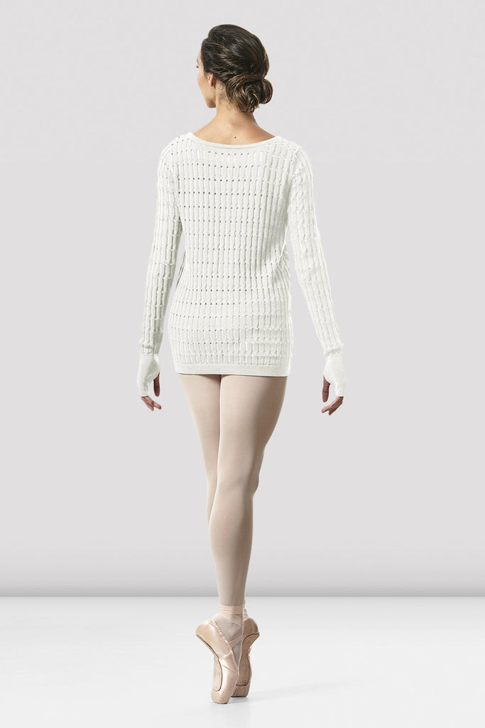 Ladies Shina Knit Warm-up Top - BLOCH US