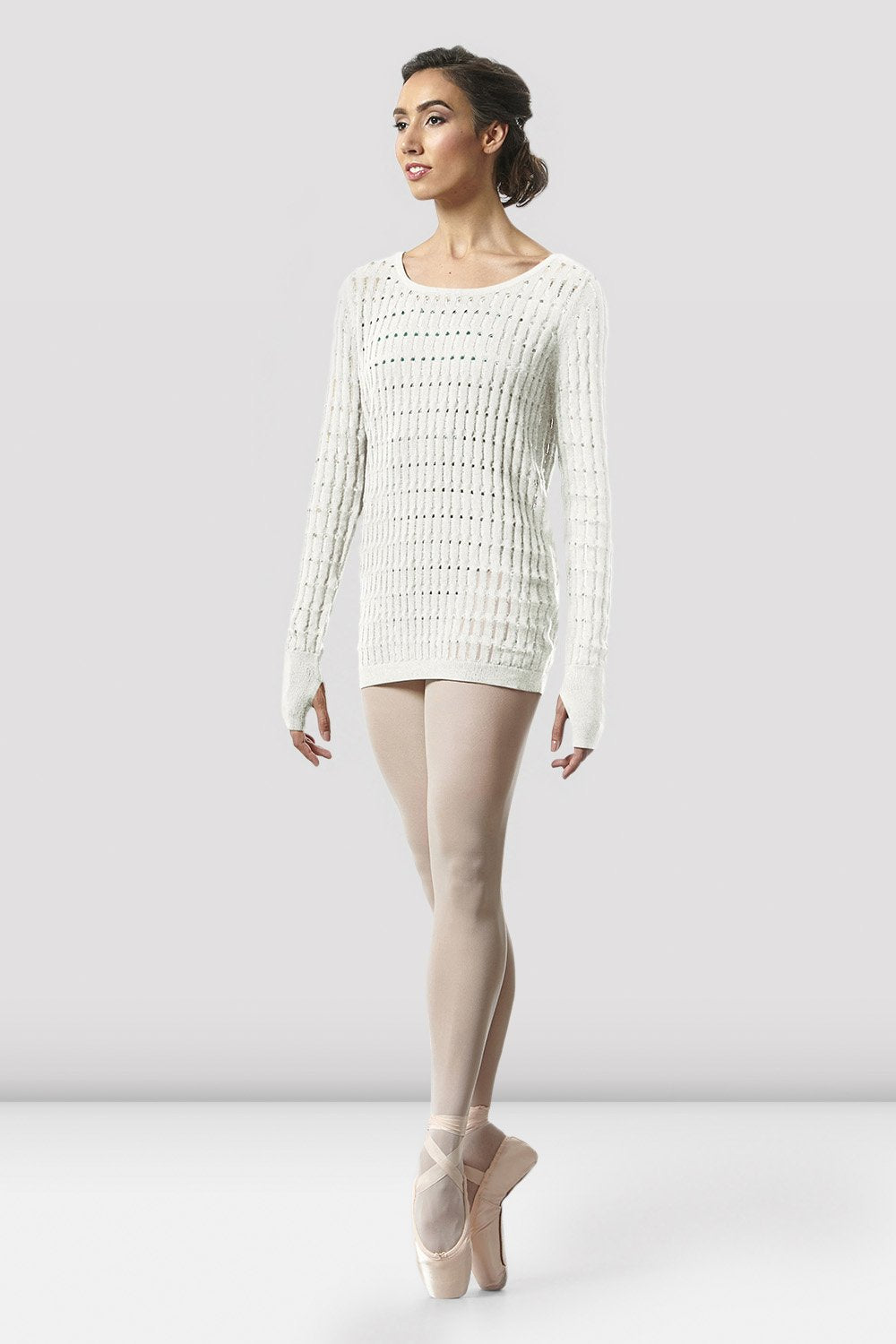 Ladies Shina Knit Warm-up Top