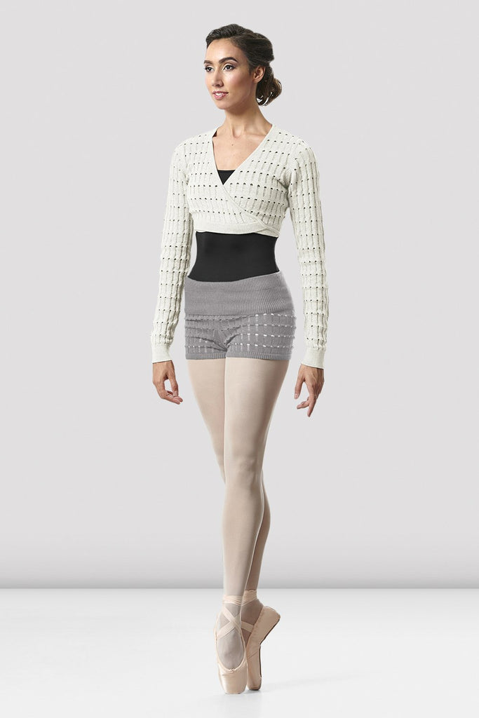 Ladies Sonoma Knit Warm-up Short - BLOCH US