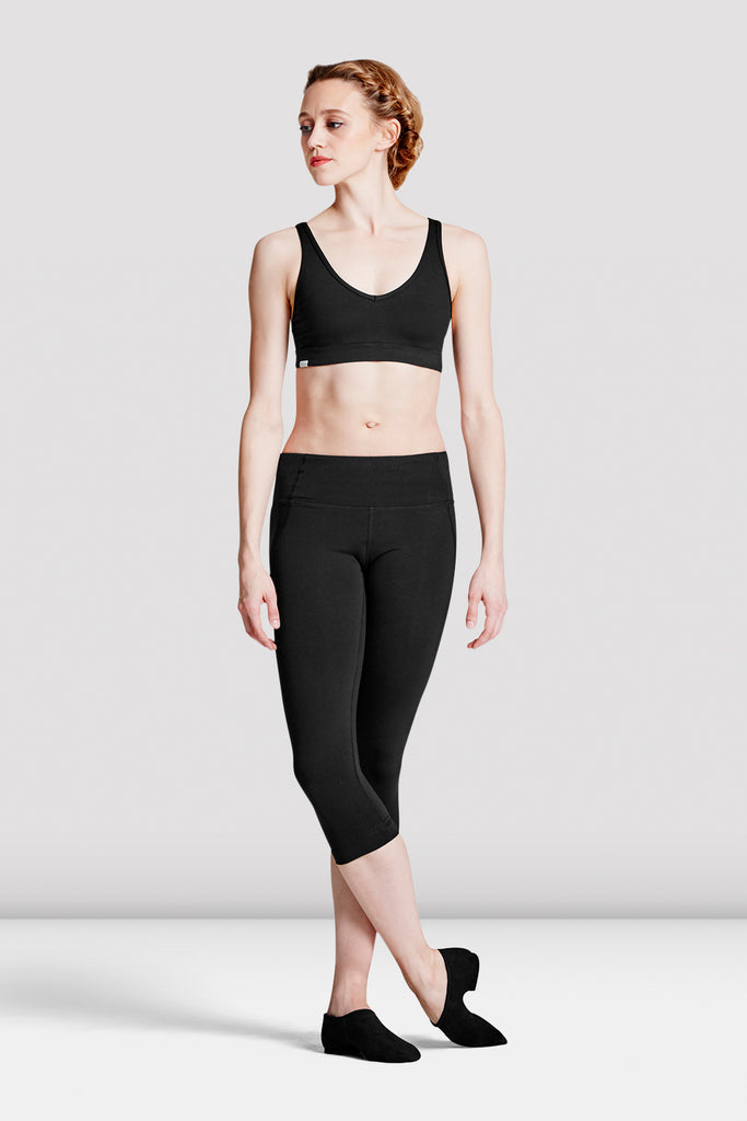 Ladies Keyhole Back Crop Top - BLOCH US