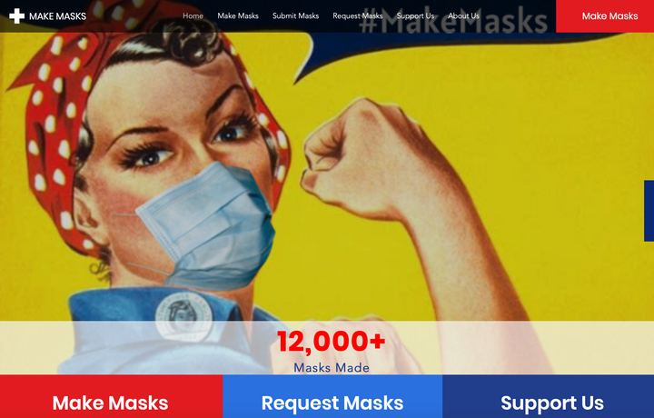 Make / Request Masks & Mask Delivery Volunteer Sign up