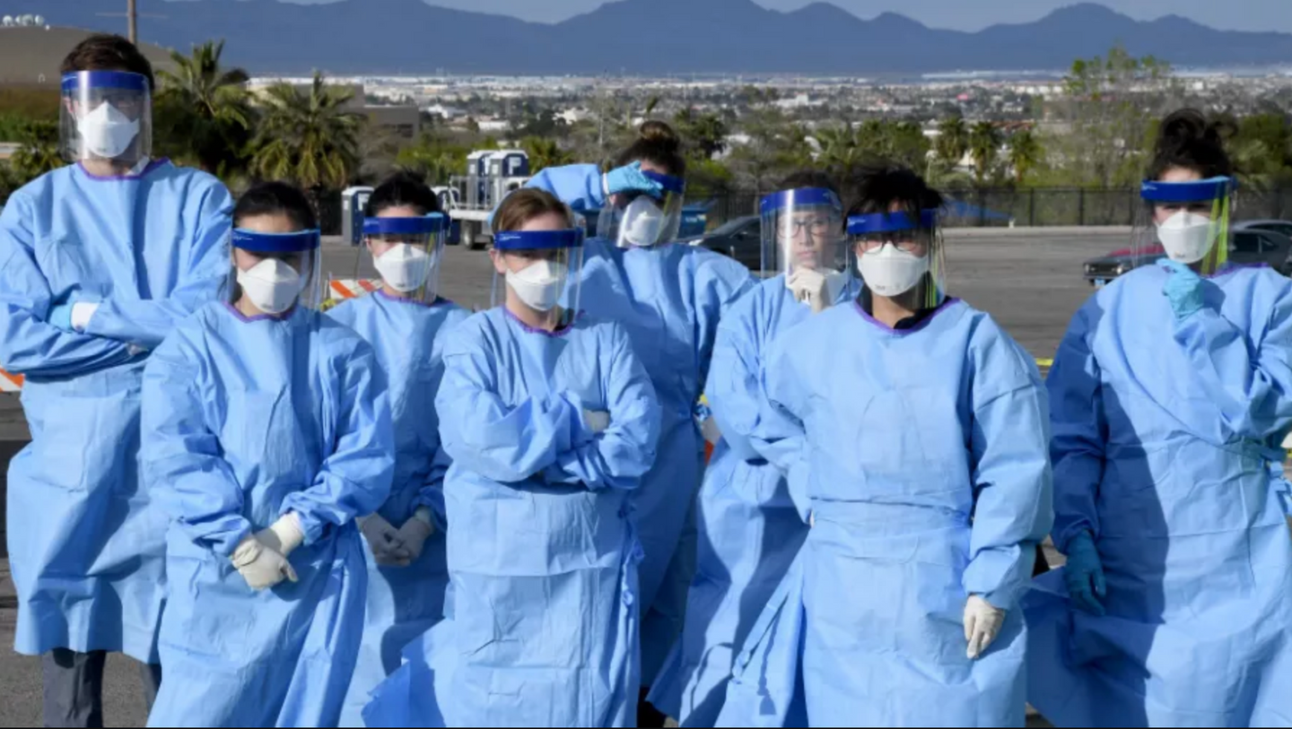 PPE Gowns, Masks, and Face Cover