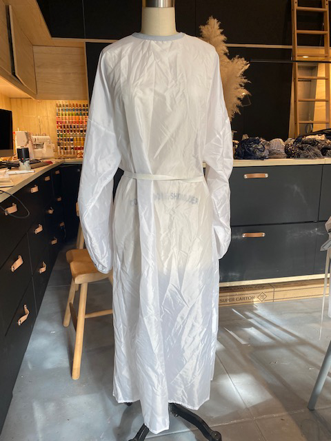 Physical FGFH Isolation Gown Paper Pattern