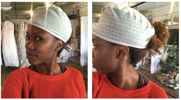 Fashion Girls Surgeon's Scrub Cap Pattern & Instructions