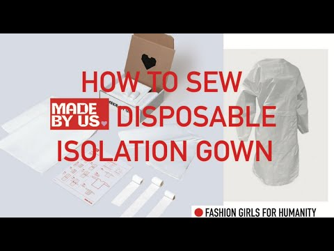 Isolation Gown Precut Material Kits