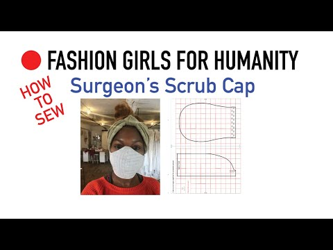 Surgeon's Scrub Cap Pattern