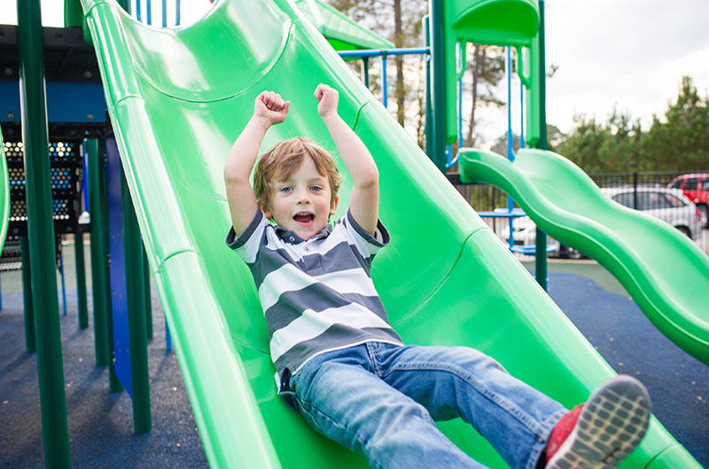 Reasons for Kids Loving The Playground Slides
