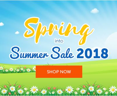 2018 Spring into Summer Sale 2