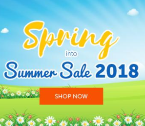2018 Spring Into Summer Sale