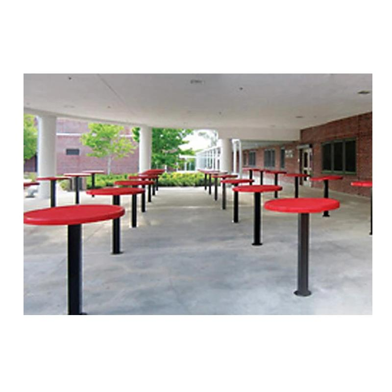 "42"" High Food Court Round Table, Inground (360)"