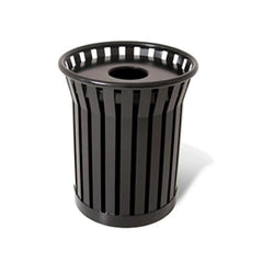 36 Gallon Jackson Receptacle With Ash Urn Lid & Plastic Liner - PC
