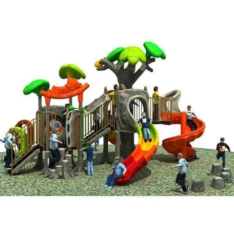 PD-T045 | Ancient Tree Themed Playground