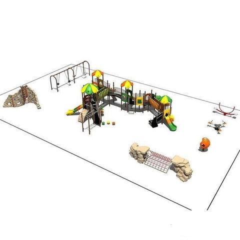 KP-80027 | Commercial Playground Equipment