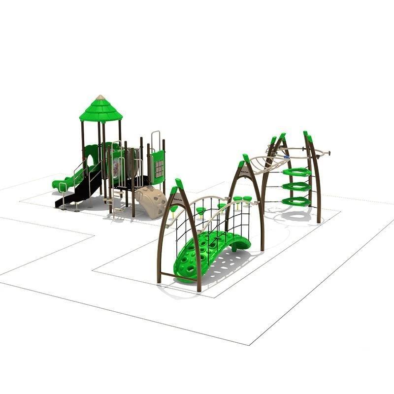 Green Ivy II  | Commercial Playground Equipment