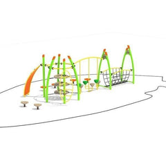 NX-80124 | Commercial Playground Equipment