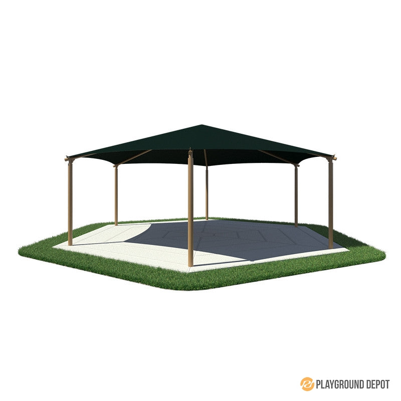 26' Hexagon Shade
