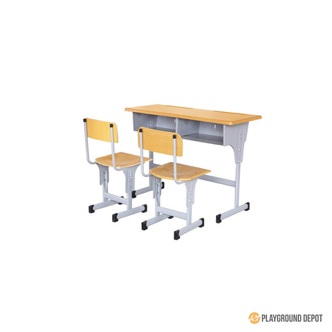 Double Elevating Desk