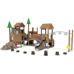 GL-1405 | Outdoor Playground Equipment